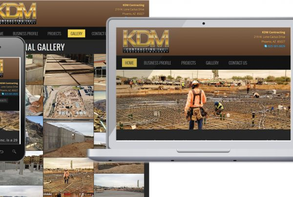 Website Design – KDM Contracting
