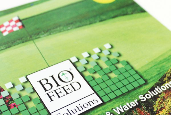 Website and Promotional Design – Biofeed Solutions