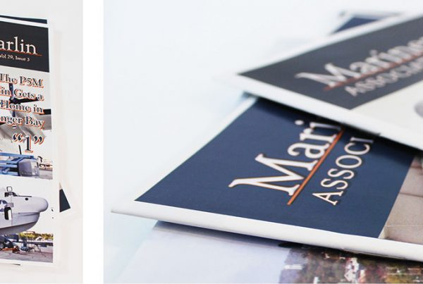 Magazine and Website Design – Mariner Marlin Asso.