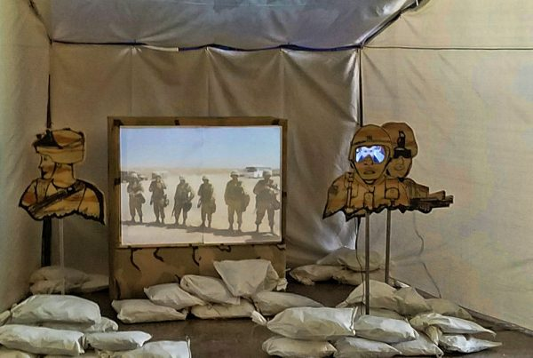 A Soldiers Burden – Video Art Installation