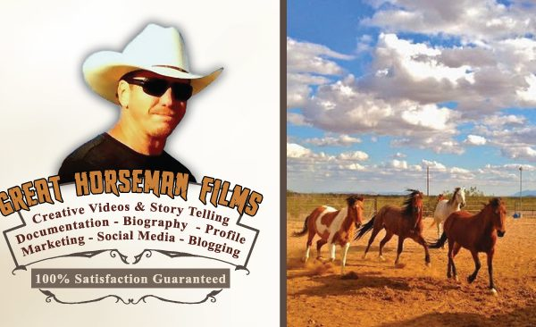 Logo and Business Card – Great Horseman Films